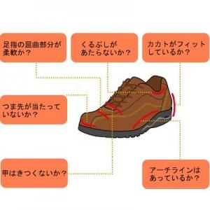 靴のサイズ選び方
