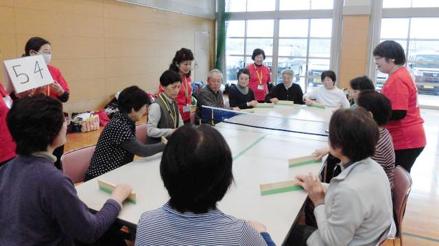 卓球バレー講習スナップショット2