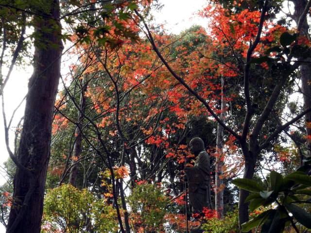 如意輪寺にある地蔵尊