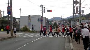 済生会病院前の横断歩道